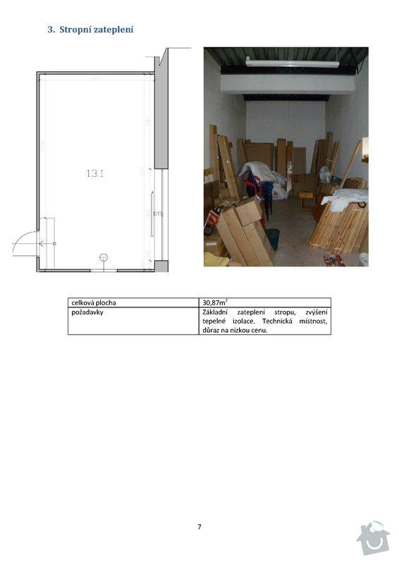 Stavební práce - podlaha 74m2, sádrokartony 53m2, malování, instalateřina: 7