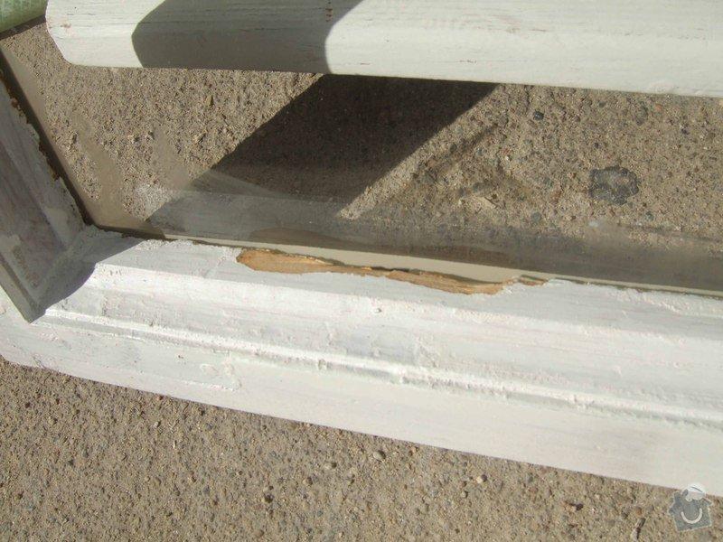 Zasklení několika prasklých oken při renovaci: DSCF2067_kopie