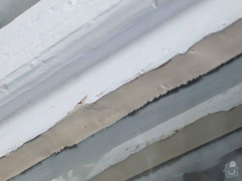 Zasklení několika prasklých oken při renovaci: DSCF2074_kopie
