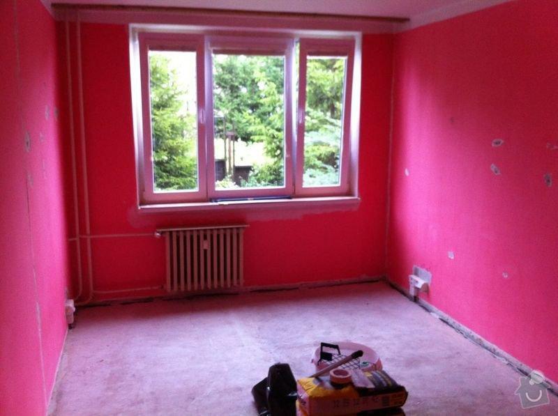 Nivelace a pokladka drevene podlahy 29 m2+: IMG_0945