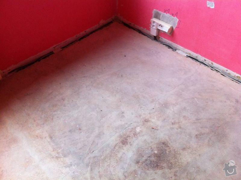 Nivelace a pokladka drevene podlahy 29 m2+: IMG_0946