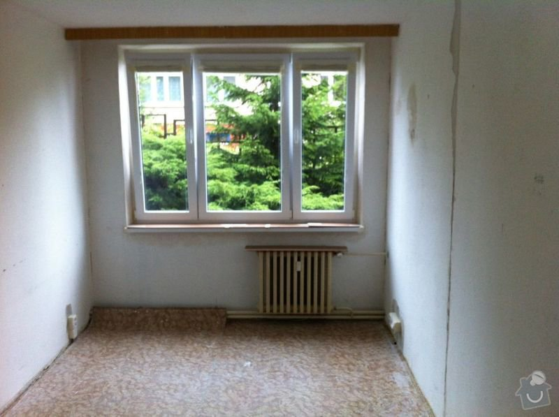 Nivelace a pokladka drevene podlahy 29 m2+: IMG_0947