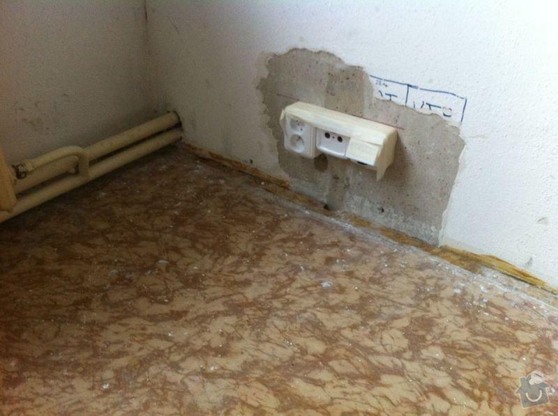 Nivelace a pokladka drevene podlahy 29 m2+: IMG_0948