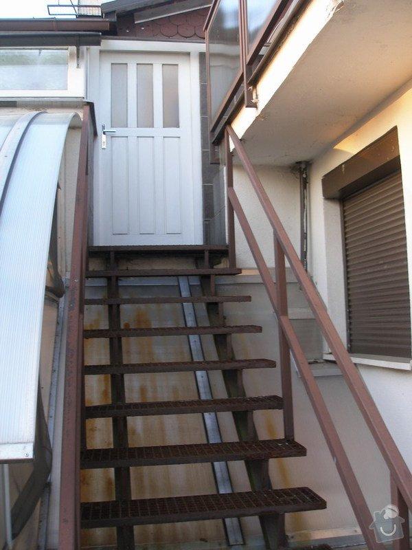 Pokrytí železného schodiště: Schody