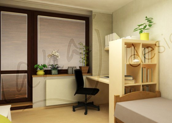 Pokoj pro vysokoškolačku