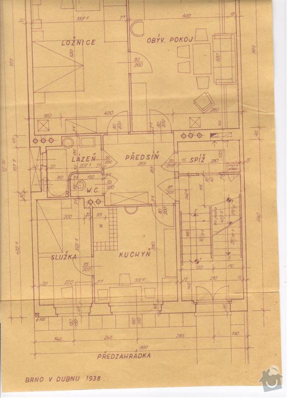 Rekonstrukce bytové jednotky: Kuchyn
