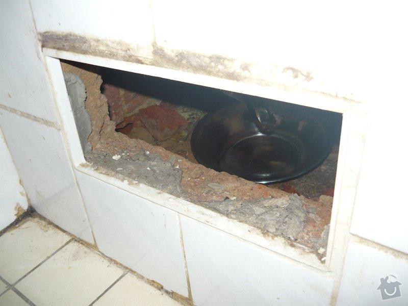 Oprava/výměna odpadu z vany: P1110130