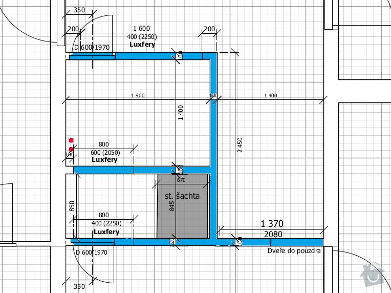 Rekonstrukce bytového jádra: zdeni