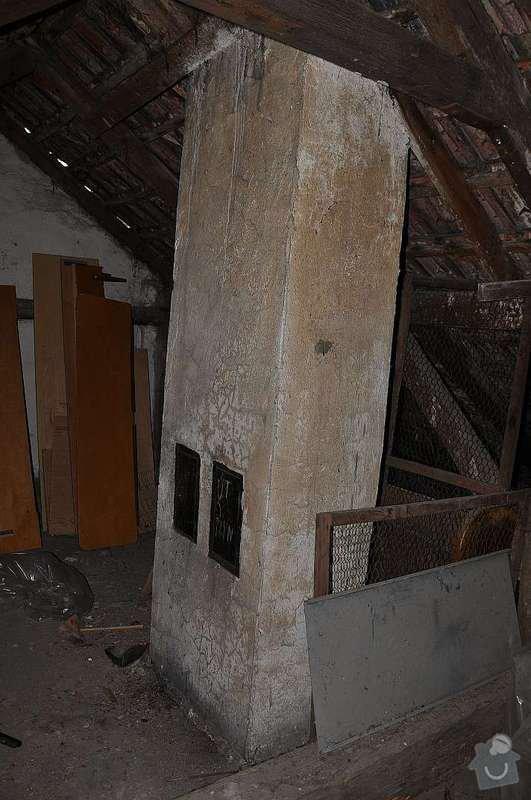 Vložkování dvoucestného komínu, výška cca 8 -10 m: DSC_0158_s