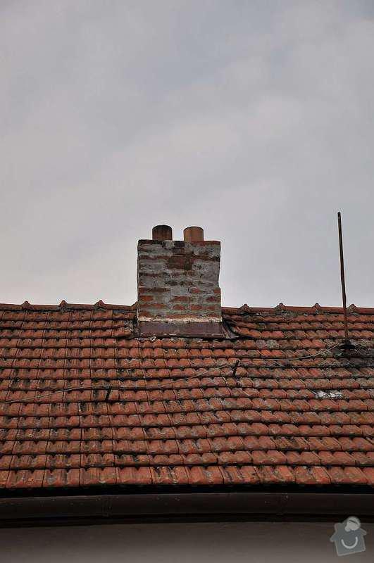 Vložkování dvoucestného komínu, výška cca 8 -10 m: DSC_0165_s
