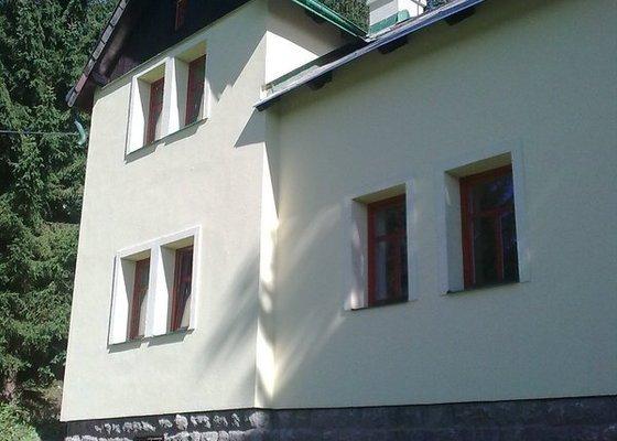Oprava a zateplení fasády