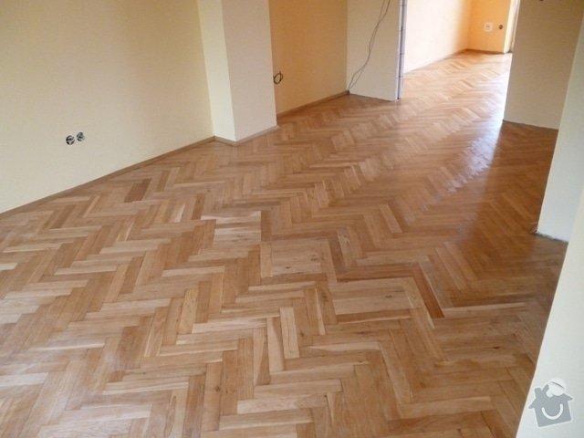 Dokládka dřevěné parketové podlahy: P1020196