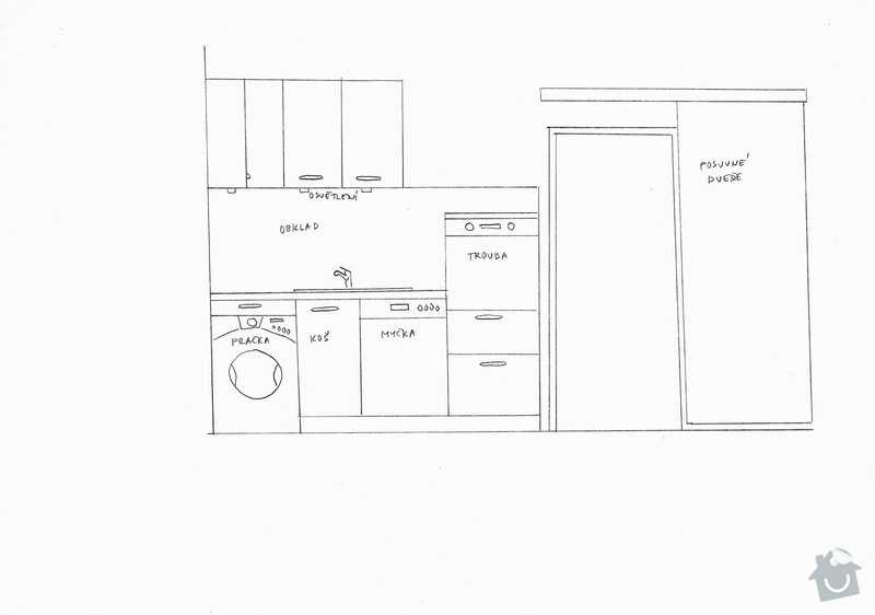 Výroba kuchyňské linky na míru: pohled2