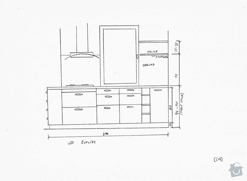 Výroba kuchyňské linky na míru: pohled3