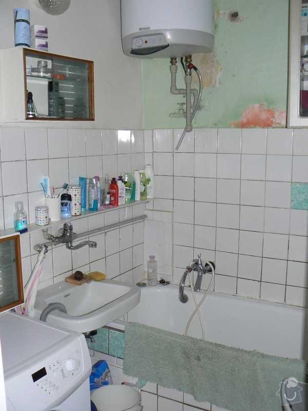 Rekonstrukce kuchyně a koupelny/WC včetně sjednocení podlah: 5.koupelna