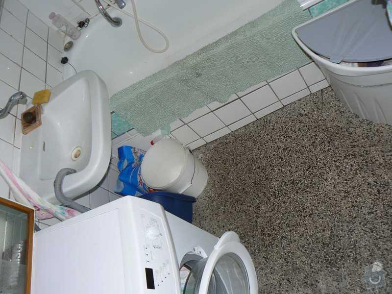 Rekonstrukce kuchyně a koupelny/WC včetně sjednocení podlah: 6.koupelna