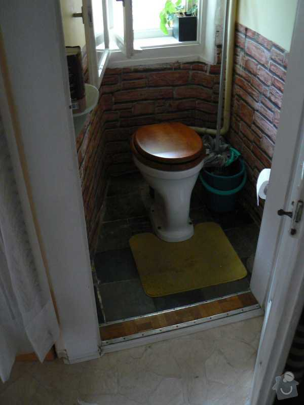 Rekonstrukce kuchyně a koupelny/WC včetně sjednocení podlah: 7.toaleta
