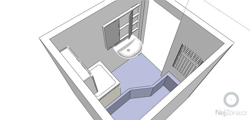 Rekonstrukce koupelny a wc: Koupelna_2