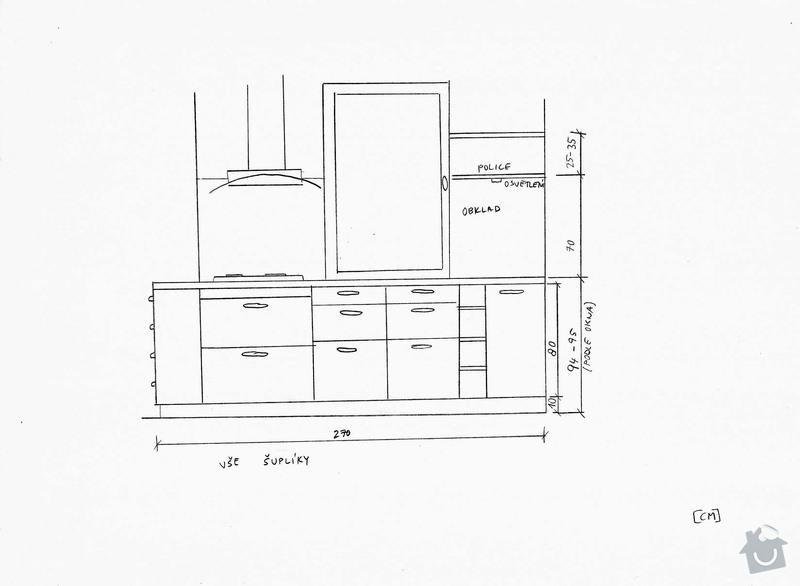 Rekonstrukce kuchyně a předsíně: pohled3