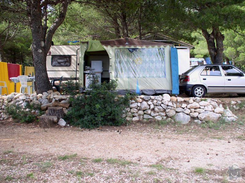 Ušití malého stanu/verandy ke karavanu-původní stan dodám k poměření: Snimek_039