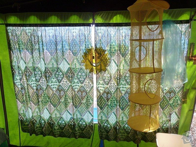 Ušití malého stanu/verandy ke karavanu-původní stan dodám k poměření: P1000585