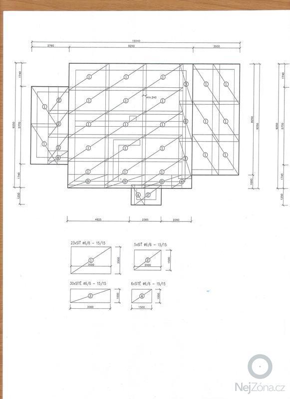 Základová deska RD: Vykres_vyztuze_zakladove_desky