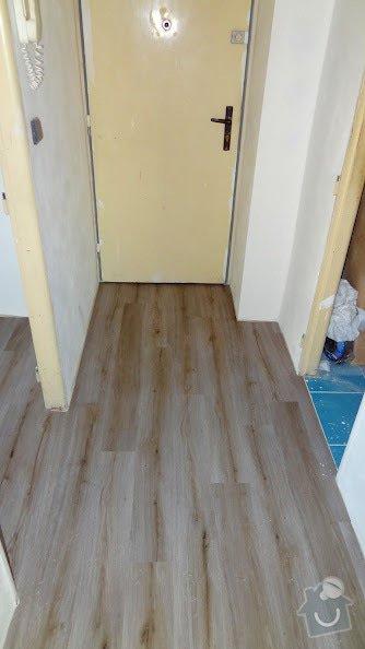 Dodávka a pokládka podlahových krytin v bytě 3+kk: podlaha-polozena1