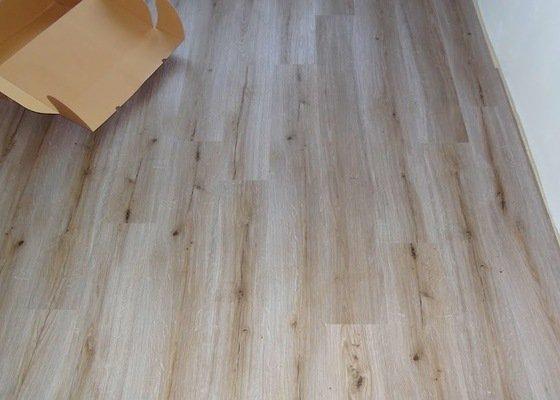 Dodávka a pokládka podlahových krytin v bytě 3+kk