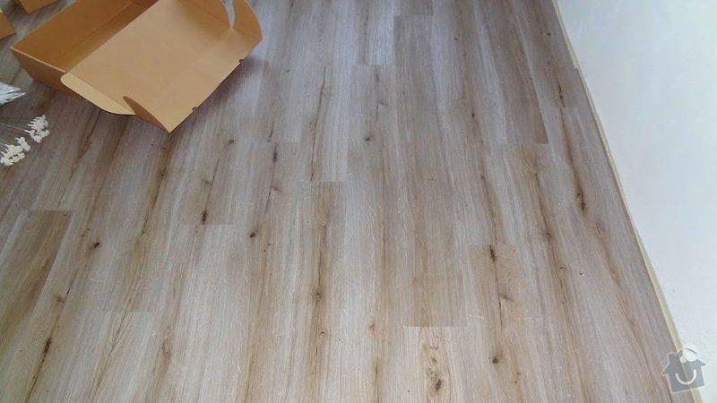 Dodávka a pokládka podlahových krytin v bytě 3+kk: podlaha-polozena3