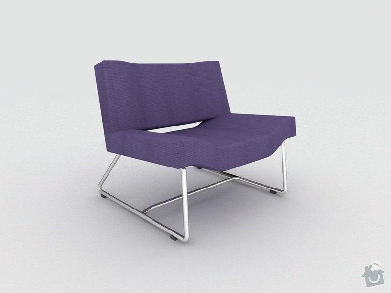 Výroba čalouněné sedačky a křesla: Kres_1
