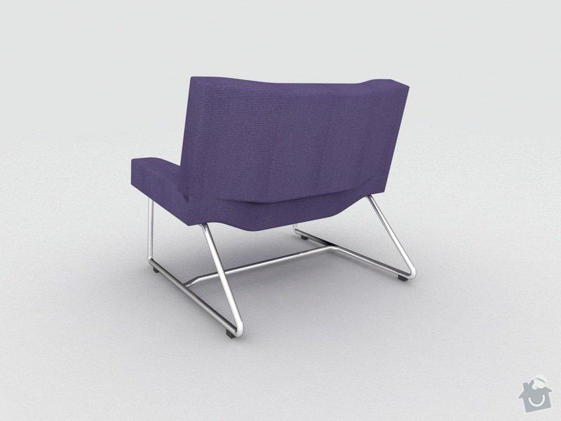 Výroba čalouněné sedačky a křesla: Kres_2