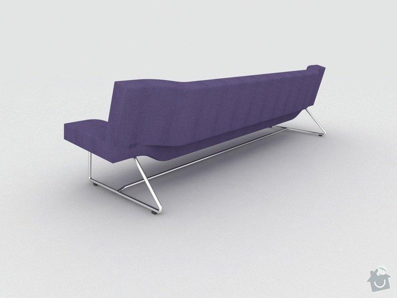Výroba čalouněné sedačky a křesla: sed_2