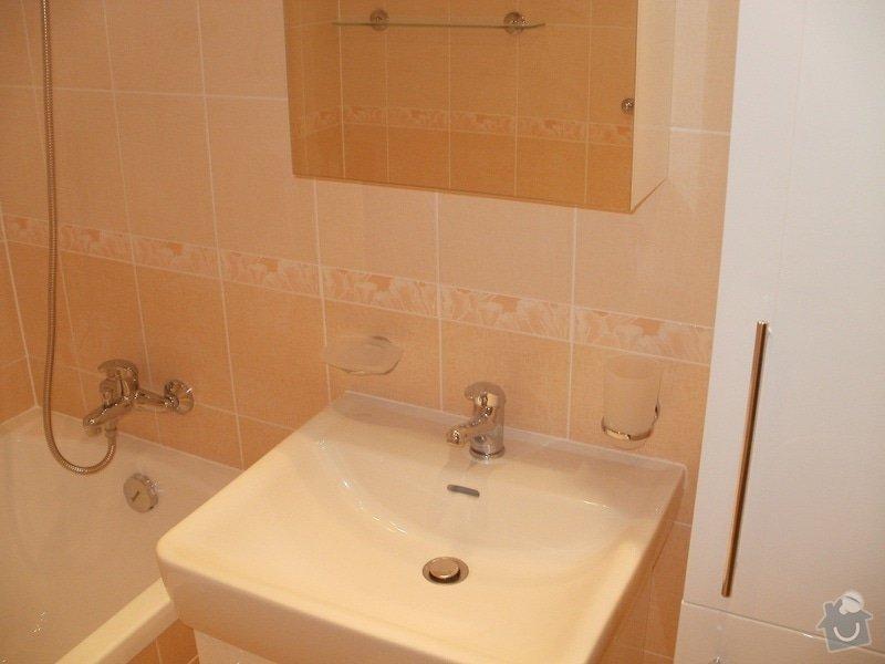 Rekonstrukce bytového jádra a stavební úpravy pro kuchyňskou linku: P9280025
