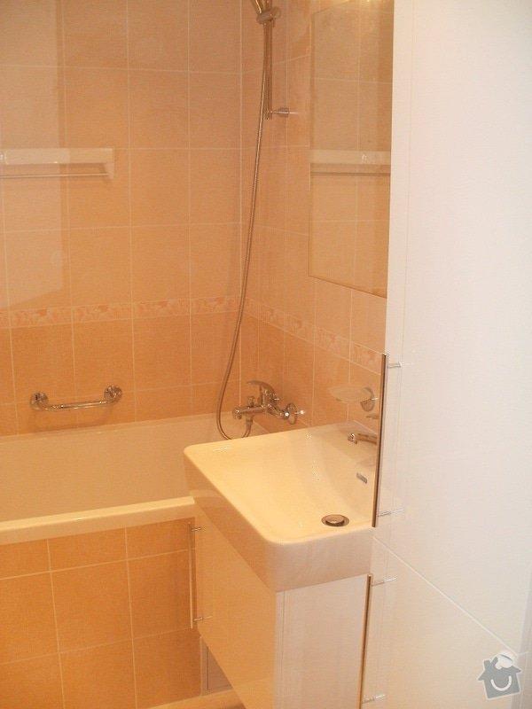 Rekonstrukce bytového jádra a stavební úpravy pro kuchyňskou linku: P9280023