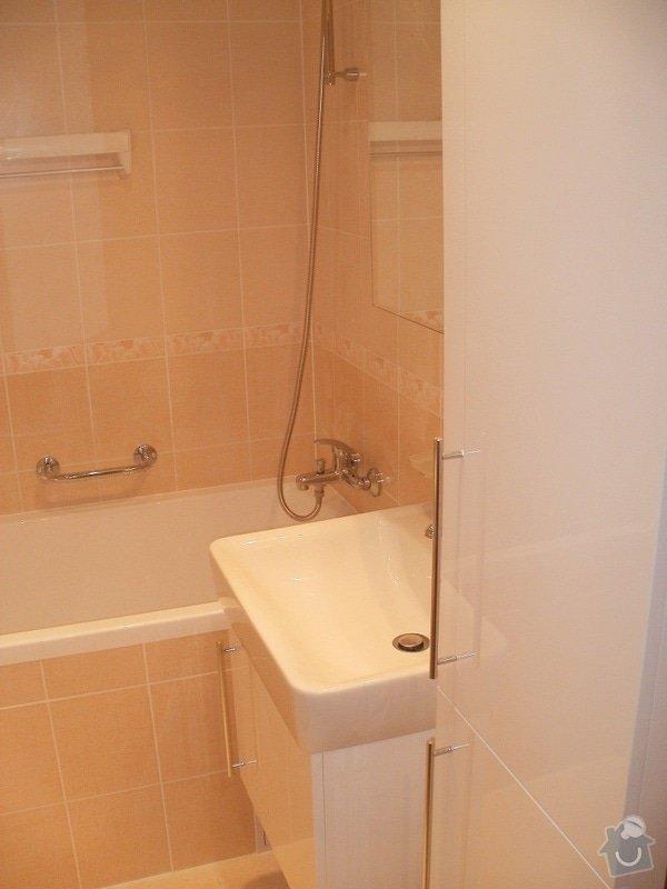 Rekonstrukce bytového jádra a stavební úpravy pro kuchyňskou linku: P9280019
