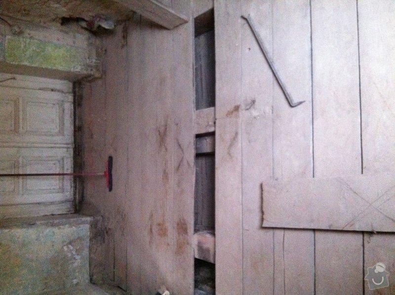 Pomocné práce při bytové rekonstrukci.: Finalni_stav_-_odstraneny_nasyp_otevreny_prostor_nosnych_tramu