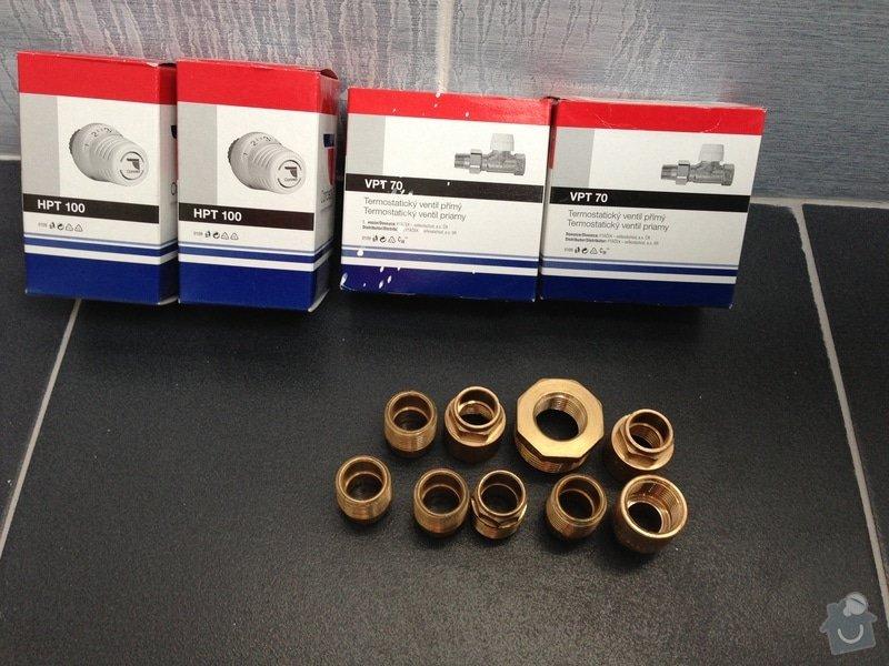 Připojení 2 radiátorů: IMG_0210