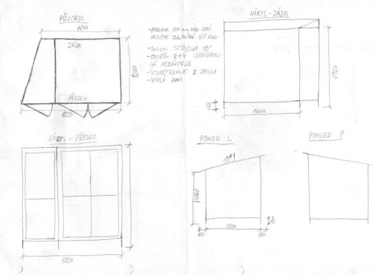 Výroba dřevníku ocel+pozink Kralupy