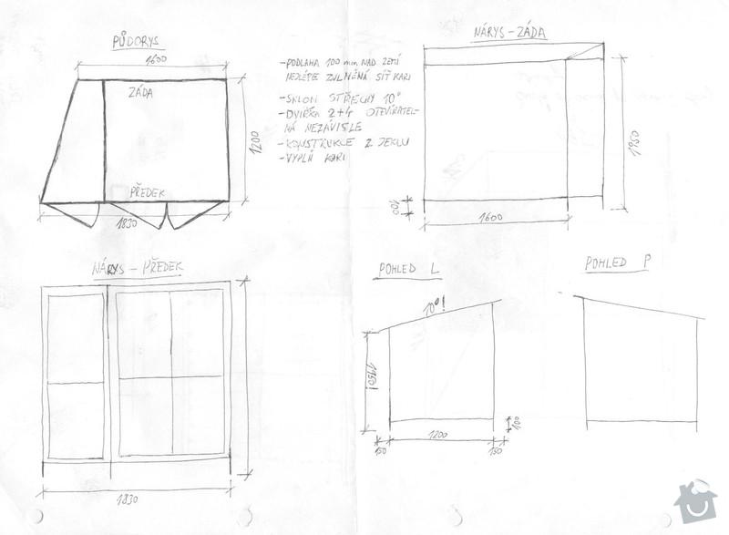 Výroba dřevníku ocel+pozink Kralupy: drevnik_rozmery