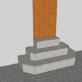 Dokonceni zamkove dlazby vstupni schodiste vstupni schodiste zkosene