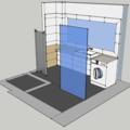 Obklady dlazba koupelna zachod v rodinnem dome koupelna pohled iso2