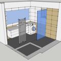 Obklady dlazba koupelna zachod v rodinnem dome koupelna pohled iso3