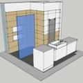 Obklady dlazba koupelna zachod v rodinnem dome koupelna pohled iso4