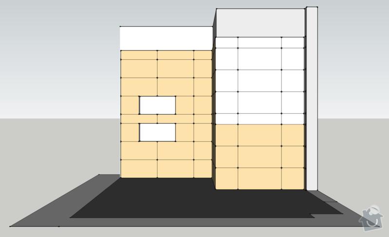 Obklady, dlažba - koupelna+záchod v rodinném domě: koupelna_pohled_Z