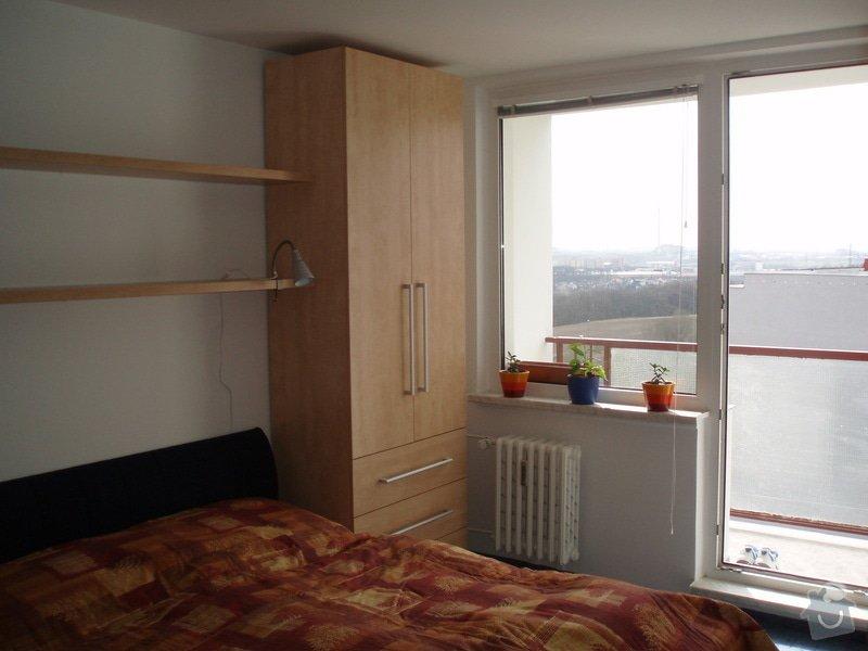 Atypické vestavěné skříně do ložnice: P3280023