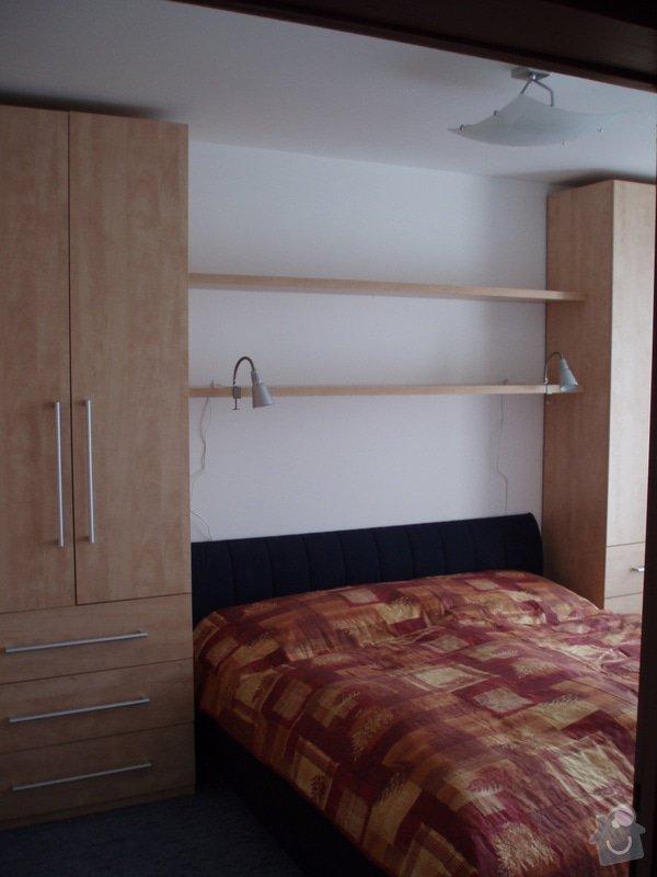 Atypické vestavěné skříně do ložnice: P3280024