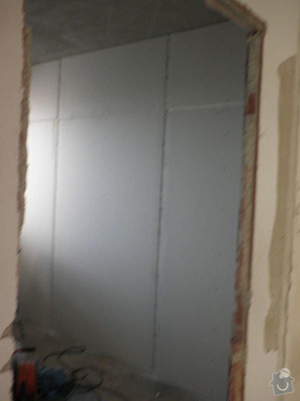 Zasazení zárubní a dveří do 3 pokojů: P4300152