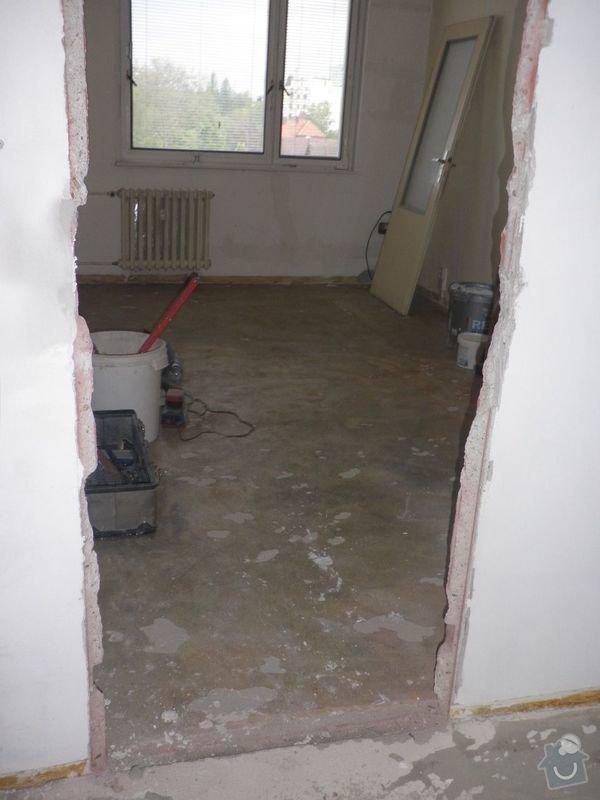 Zasazení zárubní a dveří do 3 pokojů: P5020141