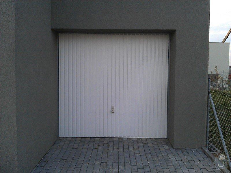Garážová vrata - elektrický pohon a zateplení: IMAG0623
