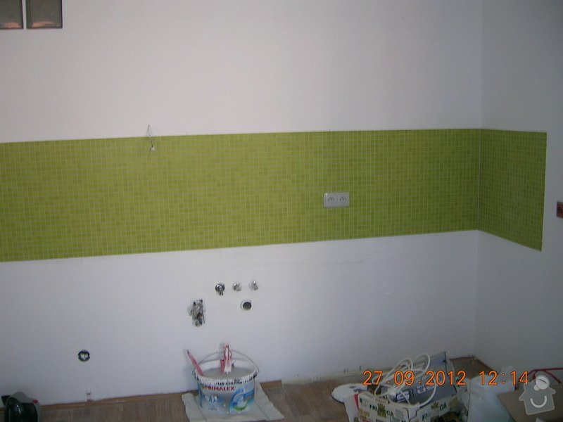 Kompletní rekonstrukce koupelny  (170x300cm) a WC: DSCN4681